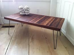hairpin leg coffee table round coffee table hairpin leg coffee table tutorial astounding image