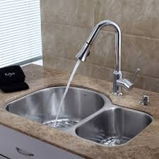 Replacing Kitchen Faucets by Extraordinary How To Install Kitchen Faucet With Undermount Sink