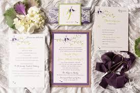 angela john u0027s rustic love birds wedding invitation suite april