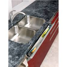 kitchen sink cabinet tray slim line stainless steel tip out soap and sponge trays for