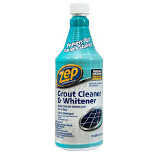 Acid For Bathroom Cleaning Zep 32 Fl Oz Grout Cleaner And Whitener Zu104632 The Home Depot