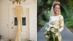 handmade wedding dresses 4 in family wear same handmade wedding gown from 1932 abc news