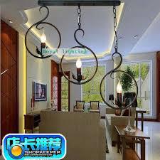 lumiere chambre enfant chinois éclairage antique café lumière vintage fer lustre les 3