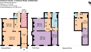 Clarence House Floor Plan 4 Bedroom Terraced House For Sale In Clarence Road Cheltenham