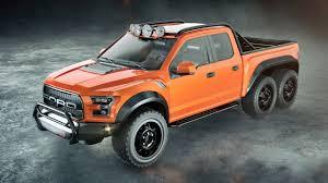 Ford Raptor Modified - the velociraptor hennessey u0027s custom 2017 6x6 ford raptor