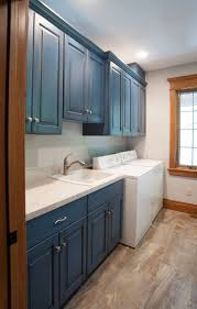 best images about ideas for patty pinterest green cabinets laundry room with blue cabinets cabinetskitchen