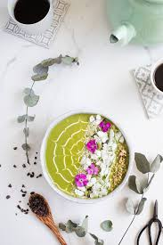 modern fruit bowl creamy greens smoothie bowl sugar and fructose free modern