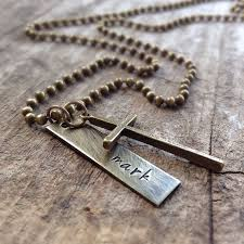 personalized mens necklaces 263 best cross necklace images on cross necklaces
