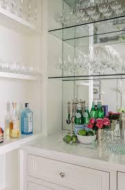 Mirrored Wet Bar Backsplash Design Ideas - Bar backsplash