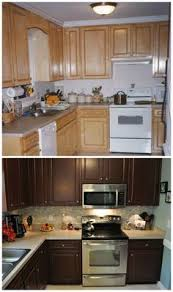 Oak Cabinet Kitchens Kitchen Transformation Part 2 And Review Of Rustoleum Cabinet