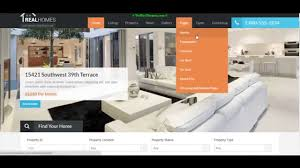 Wordpress Real Estate Template by