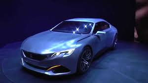 peugeot copper peugeot exalt 2015 concept car brushed aluminium car geneva 2015
