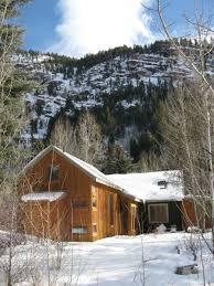 david baker architects redstone cabin