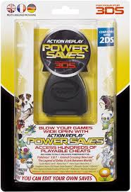 amazon com action replay powersaves cheat device for 3ds games