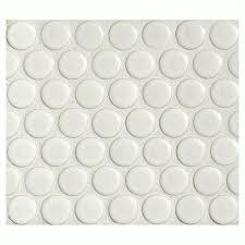 penny round tile arctic white porcelain mosaic matte look  marble  with penny round tile arctic white porcelain mosaic matte look from amazoncom