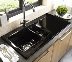 Kitchen Sink Black Astracast Liscio 1 5 Bowl Black Ceramic Kitchen Sink Renovation