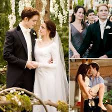 Wedding Dress Korean Movie Twilight Breaking Dawn Wedding Pictures Popsugar Entertainment