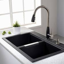 giagni fresco stainless steel 1 handle pull kitchen faucet black giagni fresco stainless steel 1 handle pull kitchen