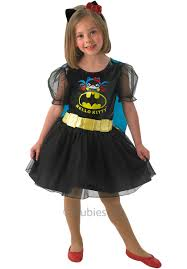 Hello Kitty Halloween Costumes by Dc Vs Hello Kitty Batgirl Child Costume Dress Escapade Uk
