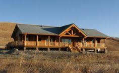 ranch style log home floor plans the cheyenne is a beautiful one story log home floor plan that has