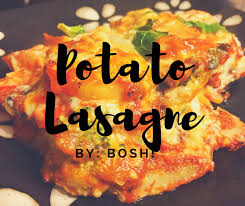 cuisine bosh potato lasagne by bosh the rainbow