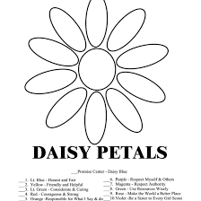 daisy scout coloring pages coloring page