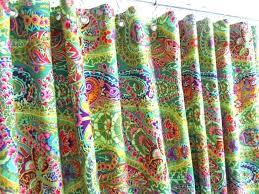 Bright Green Shower Curtain Bright Colored Shower Curtains Colored Curtains Bright Colored