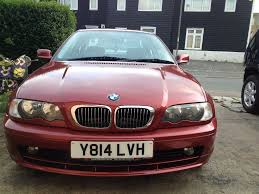 bmw 325ci 2001 5 speed manual sienarot 2 red metallic in edgware