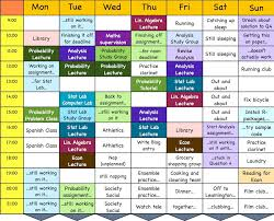 amazing study timetable gallery resume samples u0026 writing guides