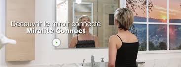 Miroir Lumineux Leroy Merlin Miroir Connecté Lumineux Avec éclairage Intégré L 90 X H 75 Cm