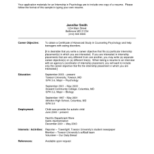 Objective In Resume For Internship Doc Resume Examples How To Write Objectives For Example Marketing