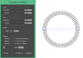 how do i draw dashed vertical lines on a path in illustrator