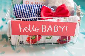 hello gift basket hello baby gift basket he and i