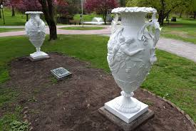 clifton park spirit halloween vandalized sculptures return to congress park in saratoga springs