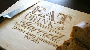 personalized cutting board wedding best personalized cutting board wedding gift 22 sheriffjimonline
