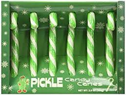 pickle candy fancy pickle flavored candy canes 3 8 oz