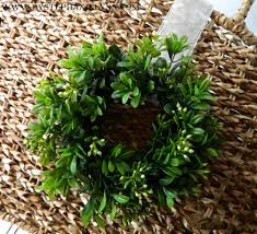 make your own mini boxwood wreaths ballard inspired chair back