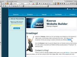 Web Design Software Tutorial | koorus web design software tutorial youtube