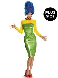 plus size the simpsons deluxe marge costume for women wholesale