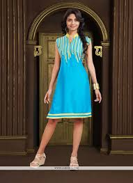 turquoise party wear kurti turquoise party kurti and party wear