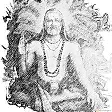 pencil drawing of sri guru raghavendra swamy convertimage me