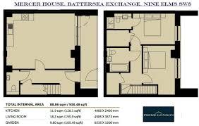 2 bedroom apartment for sale in mercer house battersea exchange