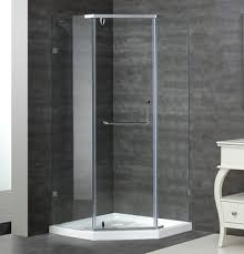 sen973 semi frameless neo angle shower enclosure