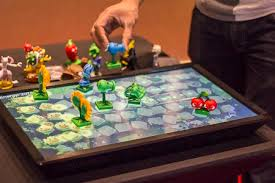 play table board game console the playtable is a console for tabletop games coolest gadgets