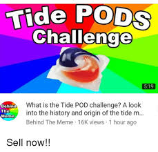 Challenge Origin Tide Pods Challenge 519 What Is The Tide Pod Challenge A Look