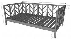 how to build a daybed daybed cost around 50 75 to make full plan lily seems to sleep