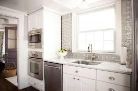 Kitchen Backsplash Stick On For White Cabinets Ideas Home Depot - Kitchen cabinets home depot canada