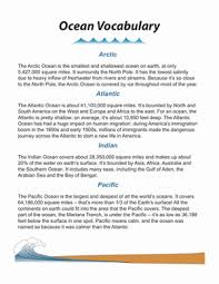 world oceans worksheet education com