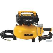Bostitch Flooring Nailer Owners Manual by Dewalt Finish Nailer U0026 Compressor Combo Kit Dwc1kit16pp Do It Best