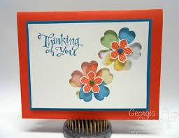 handmade watercolor cards handmade card using watercolor with petals